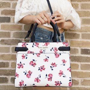 NWT Kate Spade Staci Floral Satchel & Crossbody